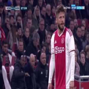 Ajax [3]:1 Heerenveen - Matthijs de Ligt 28'