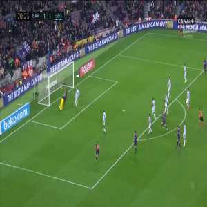 Barcelona [2]:1 Leganés - Luis Suárez 71'