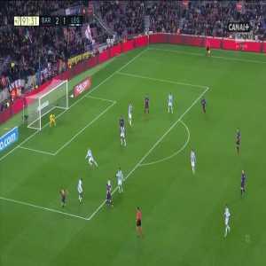 Barcelona [3]:1 Leganés - Lionel Messi 90+2'