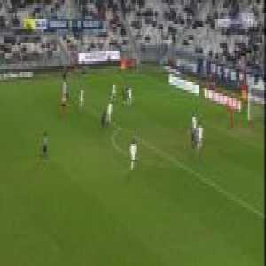 Bordeaux 1-0 Dijon - Andreas Cornelius 77'