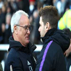 Claudio Ranieri has lost for the first time against Tottenham (12 games, 7 wins, 4 draws)