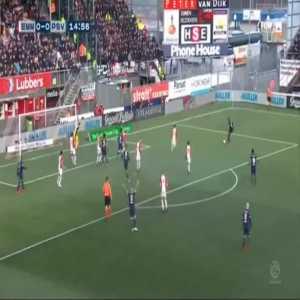 FC Emmen 0-1 PSV - Luuk de Jong 15'