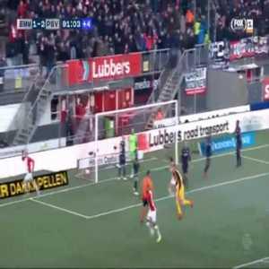FC Emmen [2]-2 PSV - Nicklas Pedersen 90'+2'