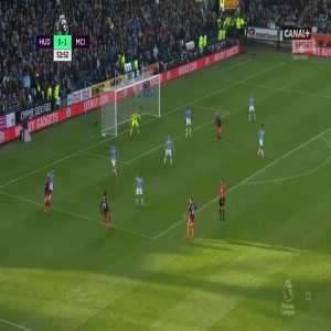 Huddersfield Town 0:[2] Manchester City - Raheem Sterling 54'