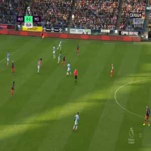 Huddersfield Town 0:[3] Manchester City - Leroy Sané 56'