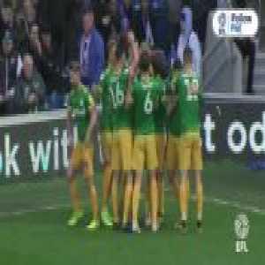 Jayden Stockley (Preston) great finish v QPR (0-[1])