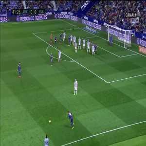 Levante [1]:0 Real Valladolid - Coke 42'