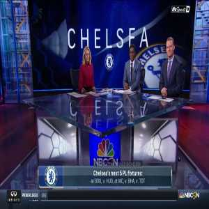 NBCSN - Analysis of Sarri's Comments after Arsenal Defeat