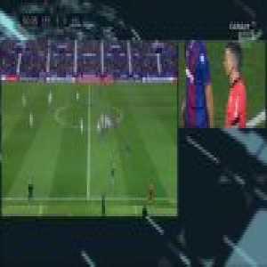 Óscar Plano (Real Valladolid) dissalowed goal vs. Levante (48')