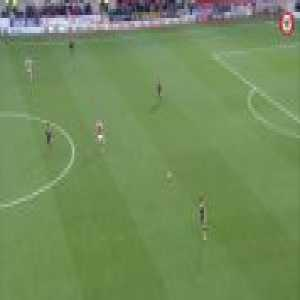 Brentford score 32 seconds after kickoff without their opponents Rotherham getting a touch to the ball (15 pass build up)