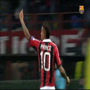 "FC Barcelona welcome Boateng by uploading a video of 2 of his goals with AC Milan vs. Barcelona in the UCL. ""You hurt us. Now you'll help us!"""