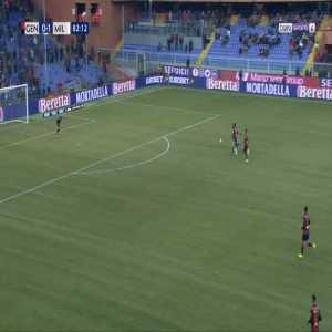 Genoa 0-2 Milan - Suso 83'