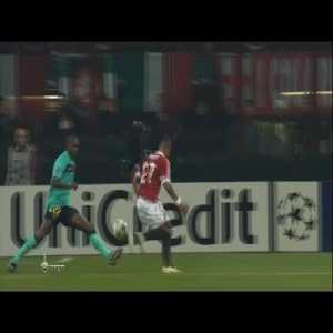 Kevin Prince Boateng goal against now current club FC Barcelona