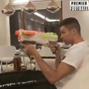 Ronaldo hitting the target as usual... 🔥