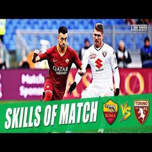Skills if the match (Roma v Torino)