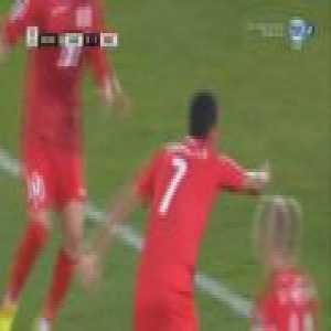 United Arab Emirates 2-[2] Kyrgyzstan - Tursunali Rustamov 90'+1'