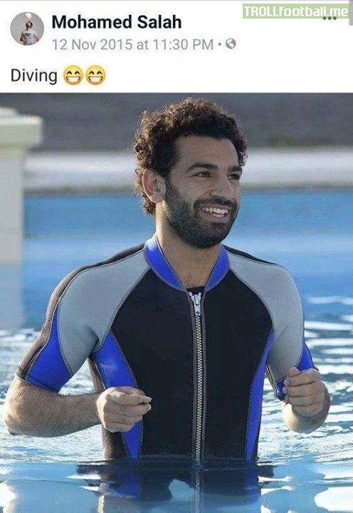 At least Salah is honest 😂