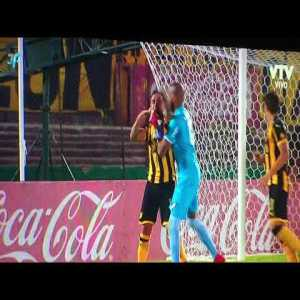 Double red card for Peñarol and Nacional players for punching each other in the face in yesterday's off-season clásico.