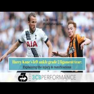 Harry Kane's left ankle injury: Explaining the likely type of ligament tear & ramifications