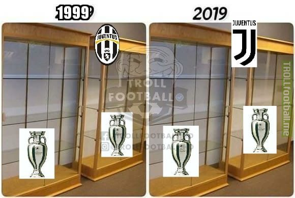 Juventus has not won an UCL for 23 years now.  20YearChallenge
