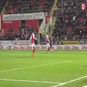 Lovely team goal from Brentford fc V Rotherham.