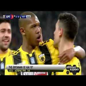 [OC] All the goals and highlights from Gameweek 16 in the Greek Superleague