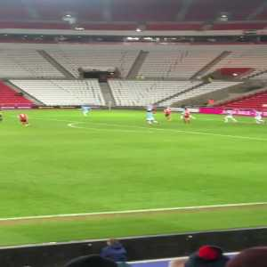 Sunderland [2] - 0 Man City U21s