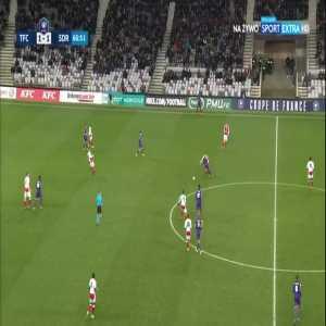 Toulouse [2]:1 Stade Reims - Manu García 68'