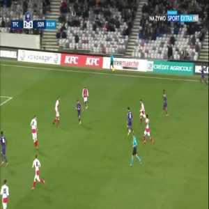 Toulouse [3]:2 Stade Reims - Aaron Leya Iseka 82'