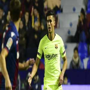 """EFE Competition judge Carmen Perez have decided to initiate disciplinary proceedings against Barcelona and Chumi """"for a possible violation of sanction"""" after a complaint filed by the Levante. The player's license could be removed from 2 to 5 years."""