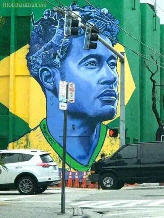 Hail Neymar, the Brazilian flair!!