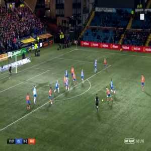 Jermain Defoe first goal for Rangers 1-0 against Kilmarnock.