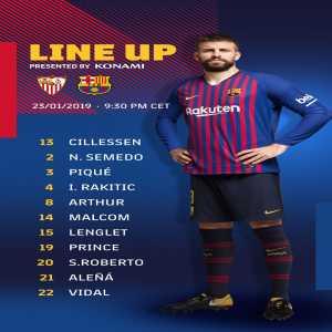 Kevin-Prince Boateng makes Barcelona debut v Sevilla
