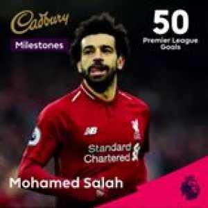 Mohamed Salah heads up a monumental month of Cadbury UK's PL Milestones