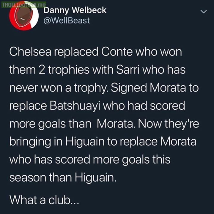 Never change Chelsea 😂
