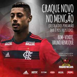 Official: Bruno Henrique signs for Flamengo
