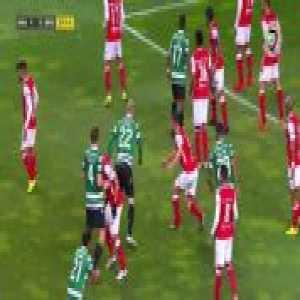 SC Braga 1-[1] Sporting CP - Coates 37' [League Cup Semi-Final]