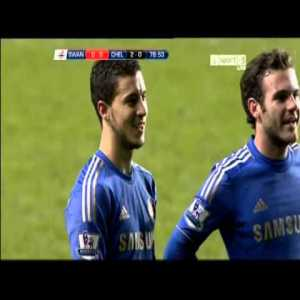 Six years ago today, Eden Hazard was sent off against Swansea for kicking a time-wasting ball boy.
