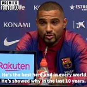 """""""Messi is the best player in the world!"""" - Prince Boateng"""