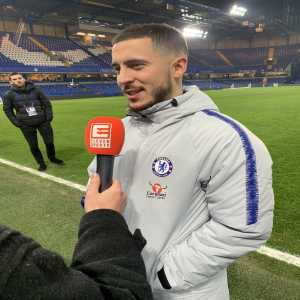 """Eden Hazard on Thierry Henry: """"I have no doubts that he will become a great coach in the future. He's welcome at the Belgium national team. If he wants to return, he knows where to find us."""""""