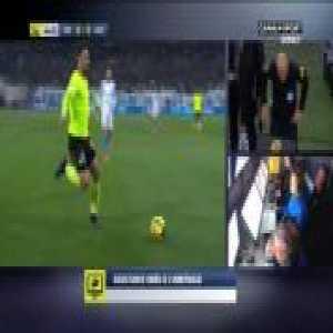 Marseille 0-1 Lille - Nicolas Pepe penalty 45'+3'