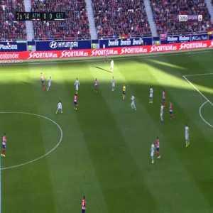 Atlético Madrid 1-0 Getafe - Antoine Griezmann 27'