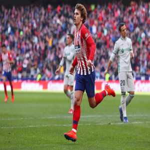 Griezmann is one of the two players to have scored 10+ goals in each of the last seven La Liga seasons, after Lionel Messi.