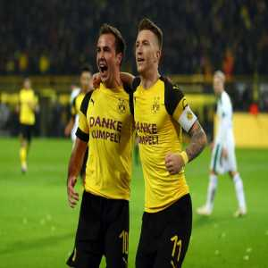Yesterday Marco Reus & Mario Götze both scored in the same match for the first time since 2013