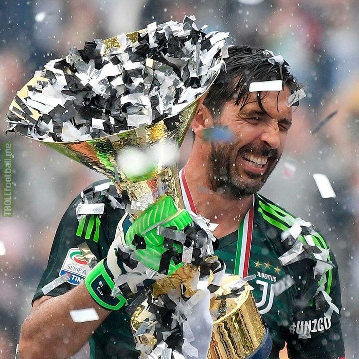 A big happy 41st birthday to Gianluigi Buffon🎈
