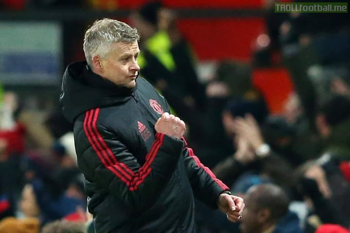 😆 Manchester United's incredible season so far: 😆😆  Sack Mourinho ➡6th Appoint Ole ➡6th Beat Tottenham ➡6th 6 wins out of 6 ➡6th Pogba on fire 🔥  ➡6th Rashford on fire🔥 ➡6th De Gea best week in week out ➡6th Improved Defense ➡6th 😂😂😂🙈🔵