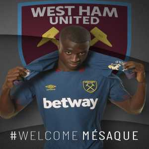West Ham sign Mésaque Djú from Benfica