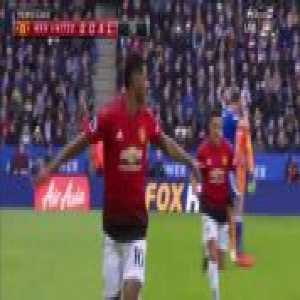 Manchester United 1-0 Leicester City - Marcus Rashford 9'