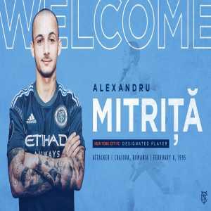 Romanian international Alex Mitrita signs for NYCFC