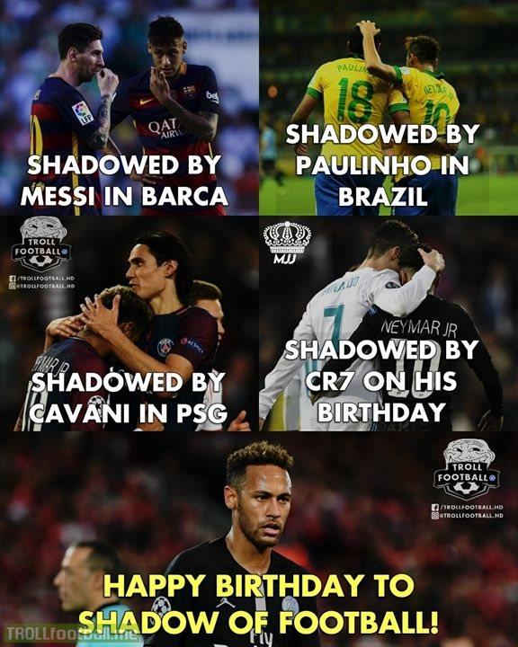 Happy Birthday Neymar Jr.!😂😂🔥